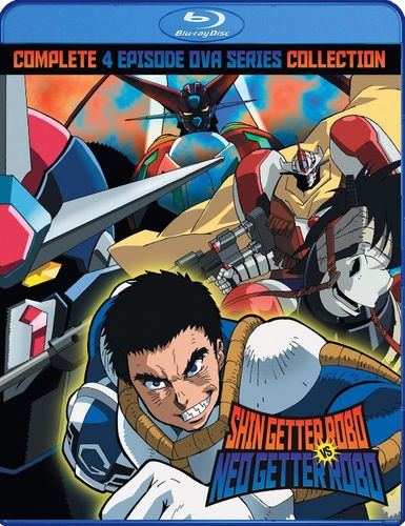 Shin Getter Robo vs Neo Getter Robo [Blu-ray] 29196172