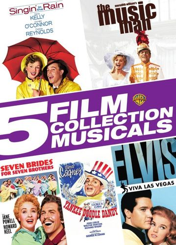 5 Film Collection: Musicals [5 Discs] [DVD] 29198249