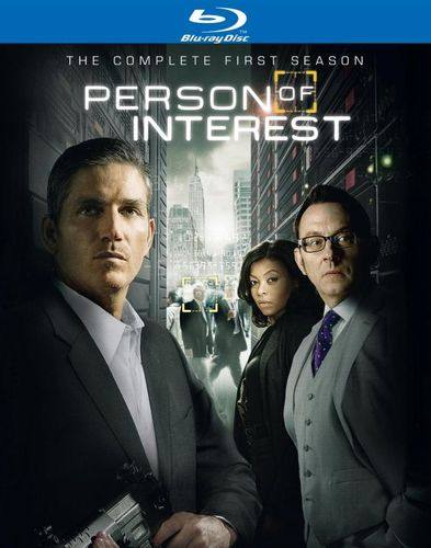 Person of Interest: The Complete First Season [6 Discs] [Blu-ray] 2922497
