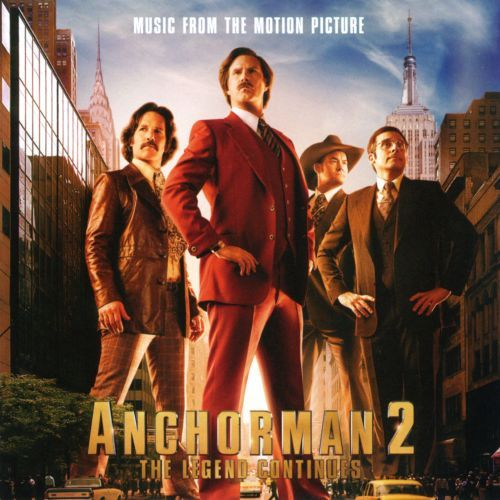 Anchorman 2: The Legend Continues: Music From the Motion Picture [CD] 2924335