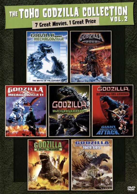 The Toho Godzilla Collection Vol. 2 [4 Discs] [DVD] 29292175
