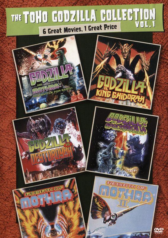 The Toho Godzilla Collection Vol. 1 [4 Discs] [DVD] 29292184