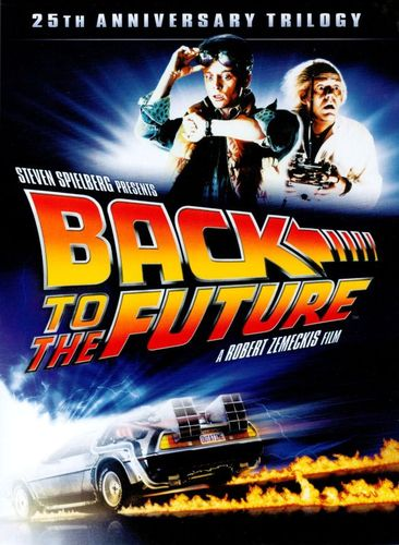 Back to the Future: 25th Anniversary Trilogy [4 Discs] [DVD] 2936164