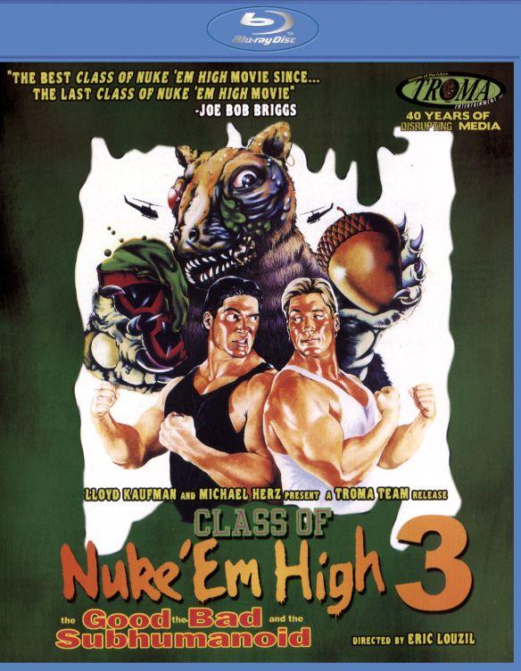 Class of Nuke 'Em High 3: The Good, the Bad and the Subhumanoid [Blu-ray] [1994] 29417425
