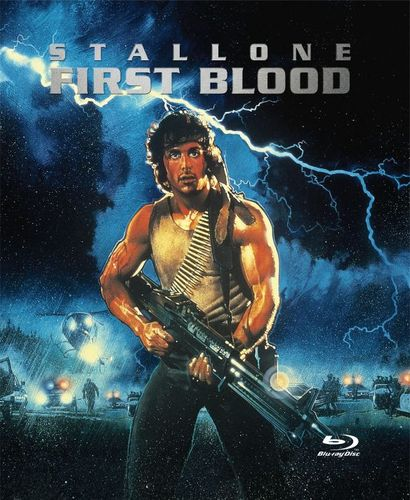 First Blood [SteelBook] [Blu-ray] [1982] 2945684