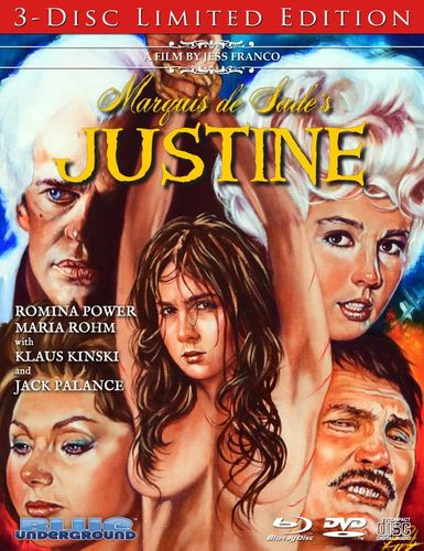 Marquis de Sade's Justine [Limited Edition] [Blu-ray/DVD/CD] [Blu-ray/DVD] [1977] 29460208