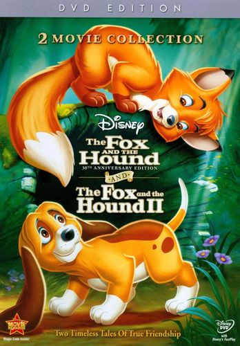 The Fox and the Hound/The Fox and the Hound II [30th Anniversary Edition] [2 Discs] [DVD] 2948299