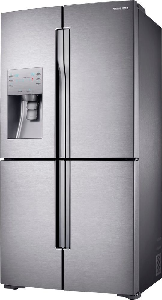 Ft 4 Door Flex French Refrigerator With Convertible