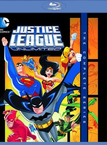 Justice League Unlimited: The Complete Series [Blu-ray] [3 Discs] 29549518