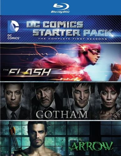 DC Comics Starter Pack: The Complete First Seasons - The Flash/Gotham/Arrow [Blu-ray] 29568304