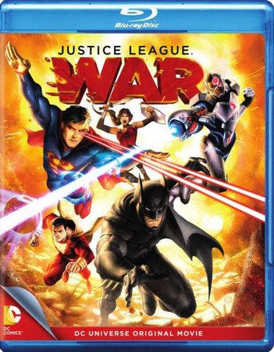 Justice League: War [Blu-ray] [2014] 2957377