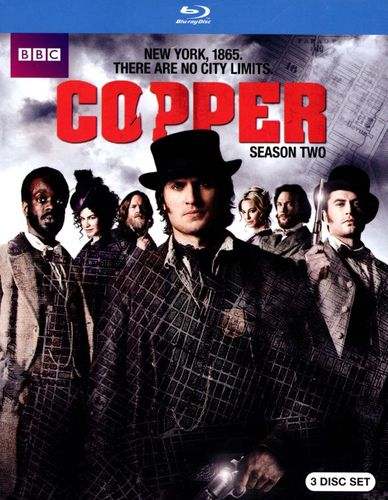 Copper: Season Two [3 Discs] [Blu-ray] 2957419