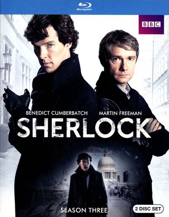 Sherlock: Season Three [2 Discs] [Blu-ray] 2963134