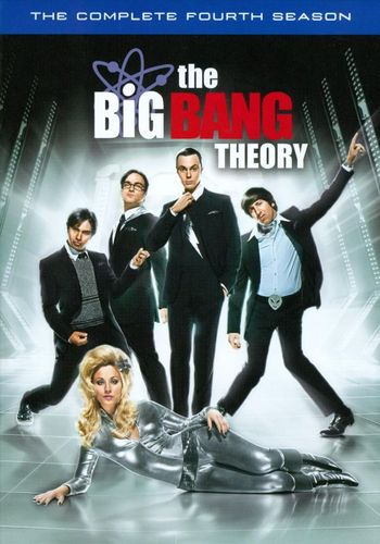 The Big Bang Theory: The Complete Fourth Season [3 Discs] [DVD] 2965083