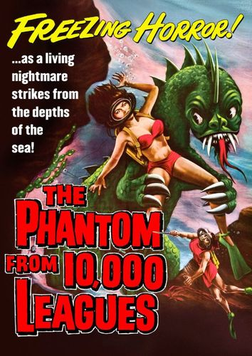The Phantom from 10,000 Leagues [DVD] [1955] 29812408