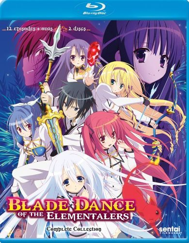Blade Dance of the Elementalers: Complete Collection [Blu-ray] [2 Discs] 29820328