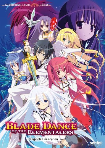 Blade Dance of the Elementalers: Complete Collection [3 Discs] [DVD] 29822189