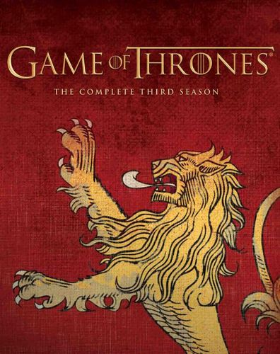 Game of Thrones: The Complete Third Season [Blu-ray] [Lannister] 2989366
