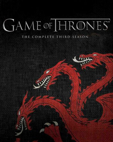 Game of Thrones: The Complete Third Season [Blu-ray] [Targaryen] 2989384