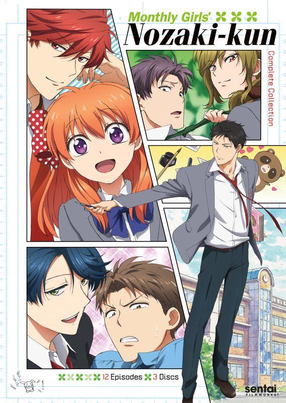 Monthly Girls' Nozaki-Kun: Complete Collection [3 Discs] [DVD] 30020315