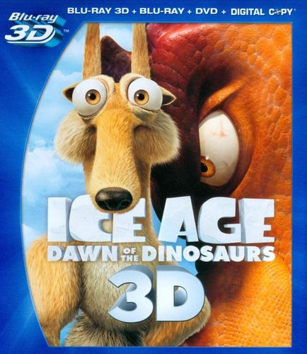 Ice Age 3: Dawn of the Dinosaurs [4 Discs] [Includes Digital Copy] [3D] [Blu-ray/DVD] [Blu-ray/Blu-ray 3D/DVD] [2009] 3003809