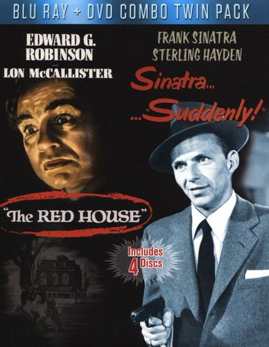 Suddenly/Red House [Blu-ray/DVD [4 Discs] [Blu-ray/DVD] 30101742