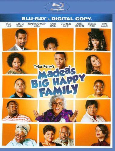 Tyler Perry's Madea's Big Happy Family [Includes Digital Copy] [Blu-ray] [2011] 3015058