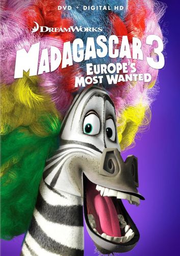 Madagascar 3: Europe's Most Wanted [DVD] [2012] 30243366