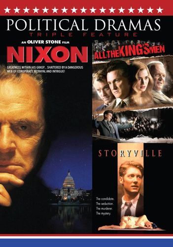 Political Dramas Triple Feature: Nixon/All the King's Men/Storyville [DVD] 30260244