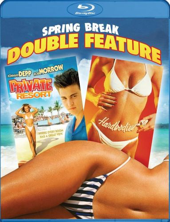 Spring Break Double Feature: Private Resort/Hardbodies [Blu-ray] 30260376