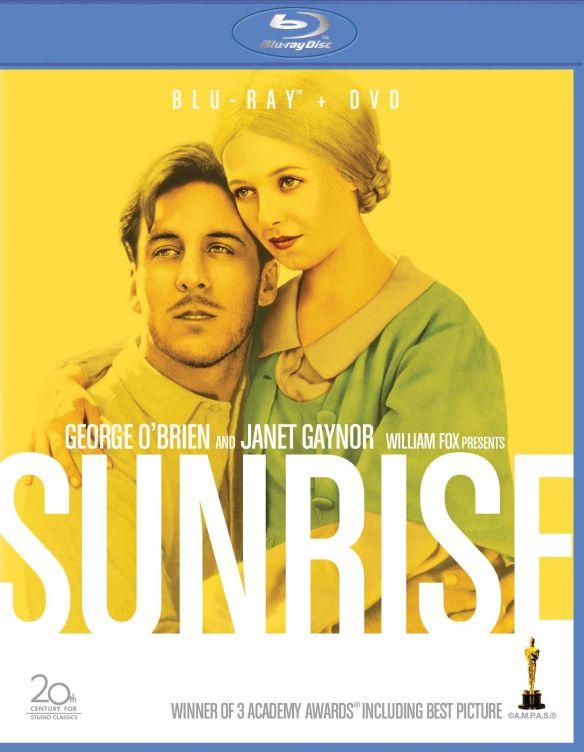 Sunrise [2 Discs] [Blu-ray/DVD] [1927] 3034055