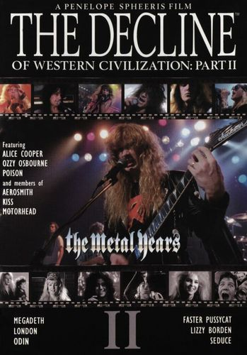 The Decline of Western Civilization Part II: The Metal Years [DVD] [1988] 30374657
