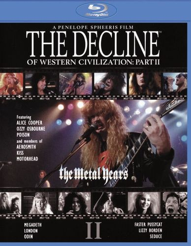 The Decline of Western Civilization Part II: The Metal Years [Blu-ray] [1988] 30374666