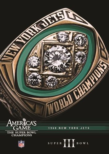 NFL: America's Game - 1968 New York Jets - Super Bowl III [DVD] 30400163