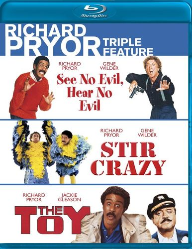 Richard Pryor Triple Feature: See No Evil. Hear No Evil/Stir Crazy/The Toy [3 Discs] [Blu-ray]
