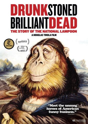 Drunk Stoned Brilliant Dead: The Story of the National Lampoon [DVD] [2015] 30424203