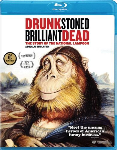 Drunk Stoned Brilliant Dead: The Story of the National Lampoon [Blu-ray] [2015] 30424212