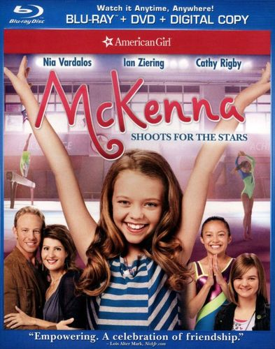 An American Girl: McKenna Shoots for the Stars [2 Discs] [Includes Digital Copy] [Blu-ray/DVD] [2012] 3043061