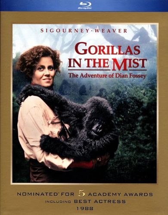 Gorillas in the Mist [Blu-ray] [1988] 3044111