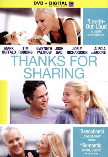 Thanks for Sharing [Includes Digital Copy] [UltraViolet] [DVD] [2012] 3044166