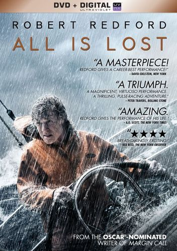 All Is Lost [Includes Digital Copy] [UltraViolet] [DVD] [2013] 3044193
