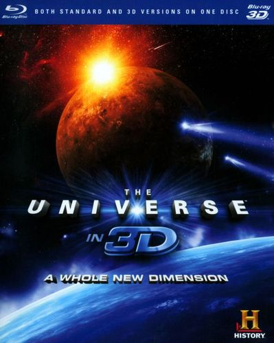 The Universe in 3D: A Whole New Dimension [3D] [Blu-ray] [Blu-ray/Blu-ray 3D] 3044349