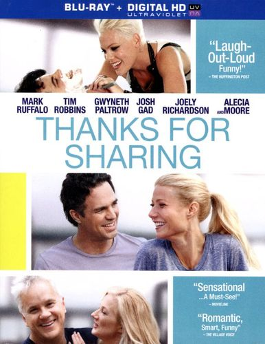 Thanks for Sharing [Includes Digital Copy] [UltraViolet] [Blu-ray] [2012] 3044385