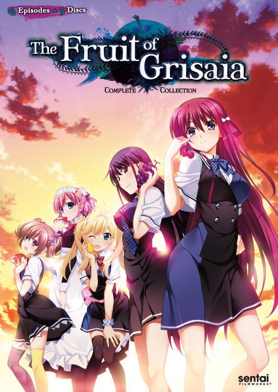 The Fruit of Grisaia: Season 1 [3 Discs] [DVD] 30466465
