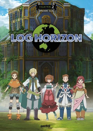 Log Horizon: Season 2 - Collection 1 [3 Discs] [DVD] 30466492