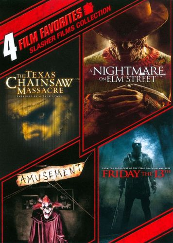 Slasher Films Collection: 4 Film Favorites [4 Discs] [DVD] 3053005