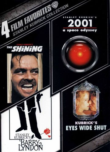 Stanley Kubrick Collection: 4 Film Favorites [4 Discs] [DVD] 3053023