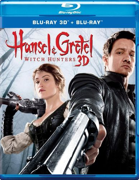 Hansel & Gretel: Witch Hunters 3D [3D] [Blu-ray] [Blu-ray/Blu-ray 3D] [2013] 3056039