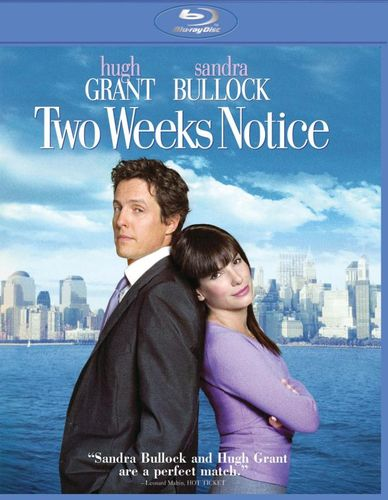 Two Weeks Notice [Blu-ray] [2002] 3057038