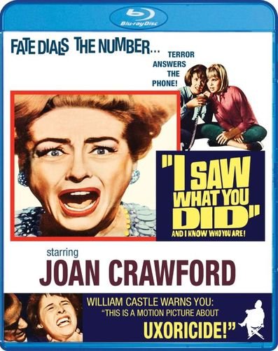I Saw What You Did [Blu-ray] [1965] 30582143